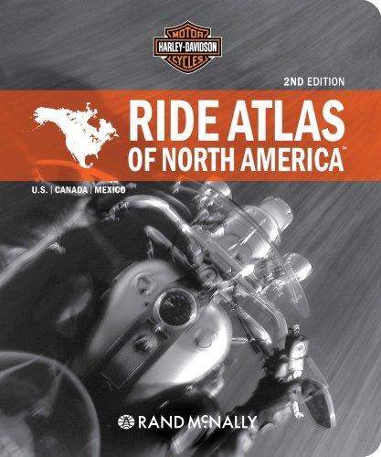 9780528939556: Harley Davidson Ride Atlas of North America