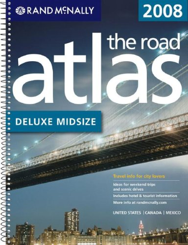 9780528939686: Rand Mcnally 2008 Deluxe Midsize Road Atlas United States/Canada/Mexico: Delux Midsize (Rand Mcnally Road Atlas Mid Size Deluxe)