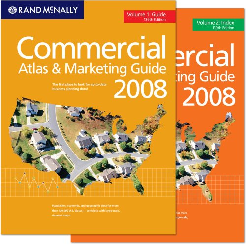Commercial Atlas and Marketing Guide (Hardback): Rand McNally Creator
