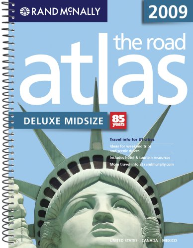 9780528942075: Rand McNally 2009 The Road Atlas Deluxe Midsize: United States/ Canada/ Mexico (Rand Mcnally Road Atlas Midsize Easy Finder)