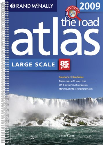 9780528942105: Rand McNally 2009 The Road Atlas Large Scale: United States (Rand McNally Large Scale Road Atlas U. S. A.)