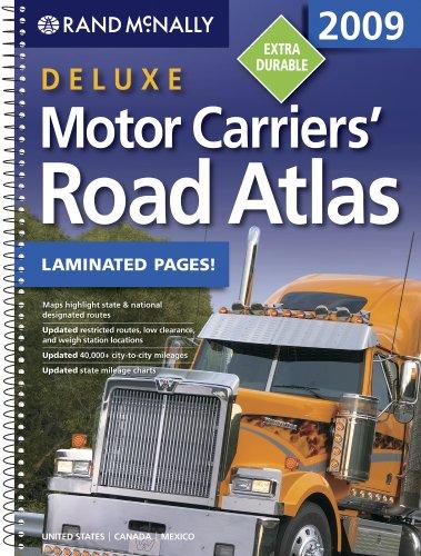 Deluxe Motor Carriers' Road Atlas 2009