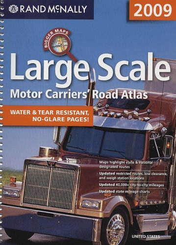 9780528942136: Large Scale Motor Carriers' Road Atlas (Rand McNally)