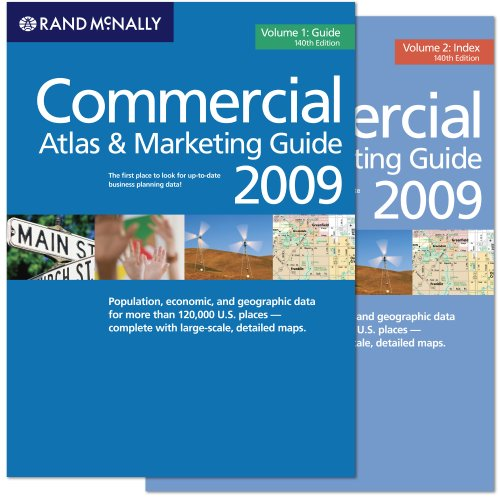 Rand McNally 2009 Commercial Atlas and Marketing Guide (Rand Mcnally Commercial Atlas and Marketing...