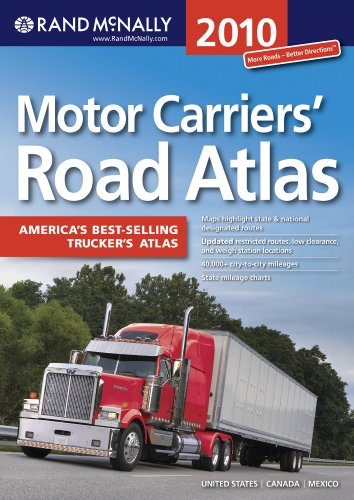 9780528942570: Rand McNally 2010 Motor Carriers Road Atlas (Rand McNally Motor Carriers' Road Atlas)