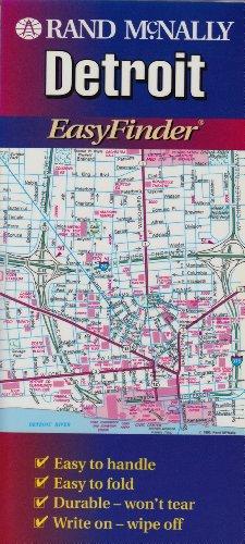 9780528945205: Rand McNally Detroit Easyfinder Map