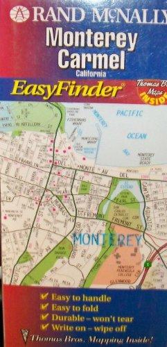 9780528945724: Monterey/Carmel (California) (USA EasyFinder Laminated Folded Maps)