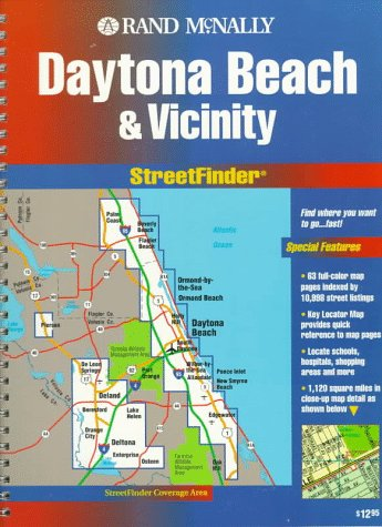 9780528952661: Rand McNally Daytona Beach & Vicinity: Streetfinder (Streetfinder Atlas)