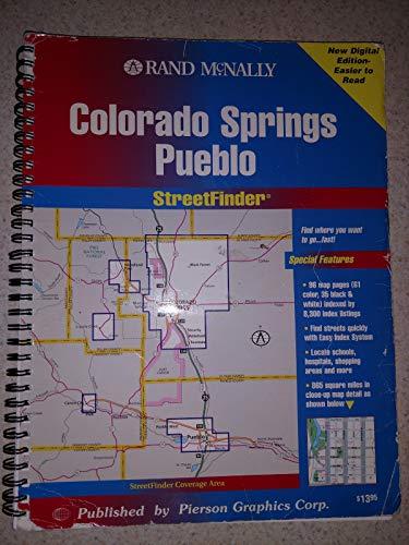 9780528953316: Rand McNally Streetfinder Colorado Springs/Pueblo