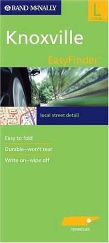 9780528954689: Rand McNally Knoxville, Tennessee Easyfinder: Local Street Detail