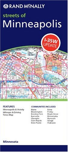 9780528955051: Minneapolis & St Paul (Mn) (Rand McNally Folded Map: Cities)