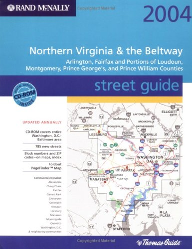 Rand McNally 2004 Northern Virginia & the Beltway Street Guide: Arlington, Fairfax and Portions...