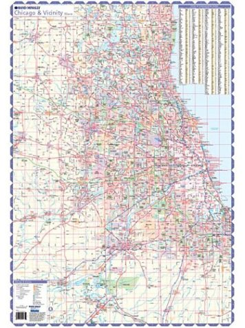 9780528955709: Chicago and Vicinity: Major Roads and Highways