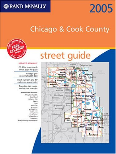 9780528956218: Rand McNally 2005 Chicago and Cook County Street Guide (Rand Mcnally Streetfinder Chicago & Cook County)