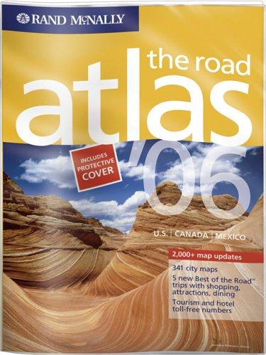 9780528957932: Rand McNally 2006 U.S. Canada Mexico Road Atlas: Vinyl Covered