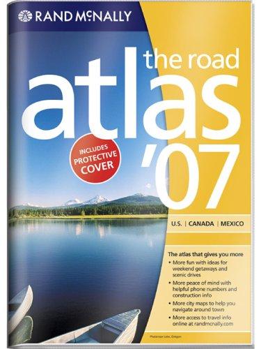 9780528958298: Rand McNally 2007 U.S. Canada Mexico Road Atlas: Vinyl Covered