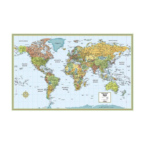9780528959936: M Series World Map (M Series Map of the World)