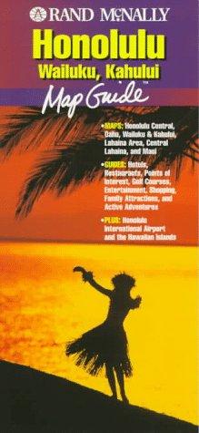 9780528964947: Rand McNally Honolulu Wailuku, Kahului: Map Guide