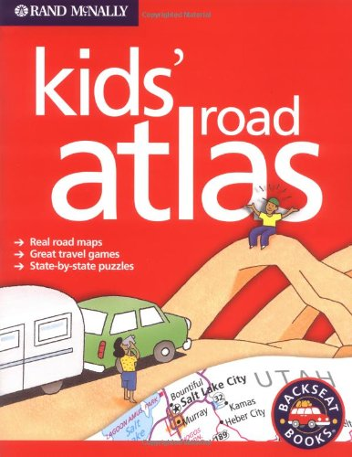 9780528965449: RandMcNally Kids' Road Atlas (Backseat Books)