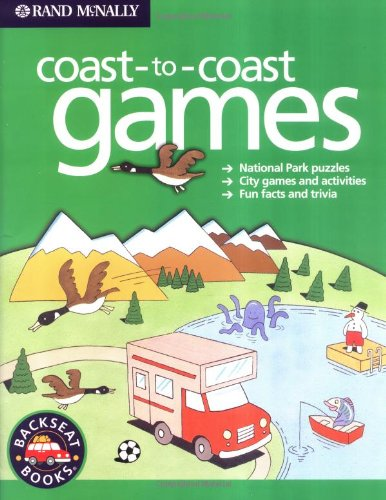 9780528965487: Coast-To-Coast Games (Backseat Books)