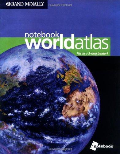 9780528965623: Rand Mcnally Notebook World Atlas