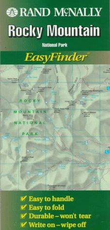 Rand McNally Rocky Mountain National Park Easyfinder Map