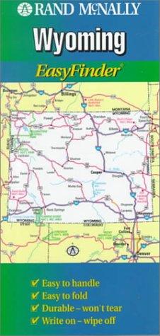 9780528967054: Rand McNally Wyoming Easyfindermap