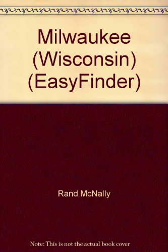 Rand McNally Milwaukee Easyfinder Map (0528967312) by Rand McNally