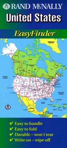 Rand McNally United States Easyfinder Map