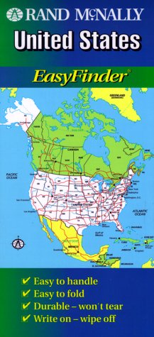 Rand McNally United States Easyfinder Map Rand McNally - Rand mcnally online maps
