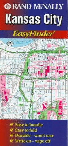 9780528967542: Rand McNally Kansas City Easyfinder Map