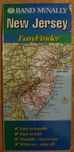 9780528968891: Rand McNally New Jersey Easyfinder Map