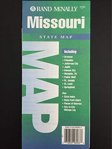 9780528969638: Missouri (State Maps-USA)
