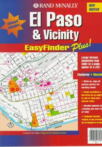 Rand McNally El Paso Tx Easyfinder Plus Map