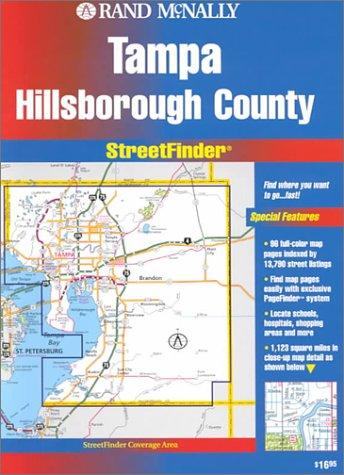 9780528972539: Rand McNally Streetfinder Tampa/Hillsborough, FL