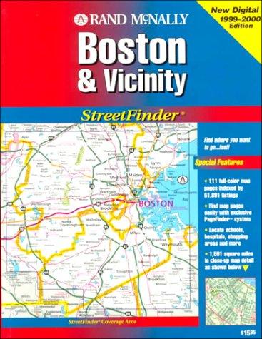 Rand McNally Streetfinder Boston & Vicinity: Rand McNally