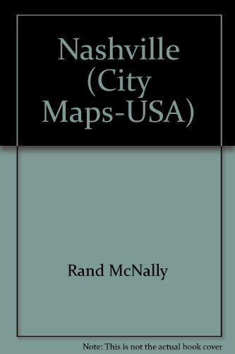 9780528974670: Nashville City Map (Rand McNally)