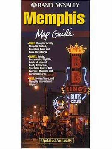 9780528975653: Randy McNally Memphis Map Guide