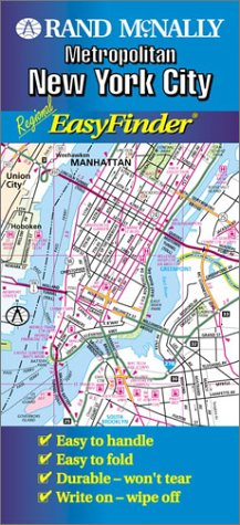 0528976761 New York City Region Easyfinder Usa Laminated Rolled