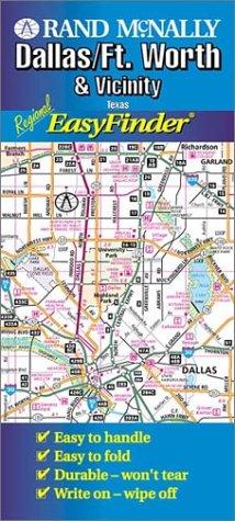 9780528976803: Dallas Ft Worth Region Easyfinder (Rand McNally Easyfinder)