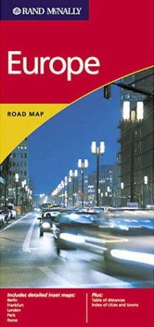 9780528976940: Europe Road Map (Rand McNally International Series)