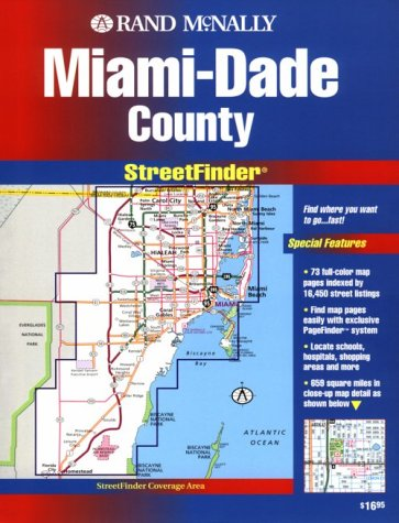 9780528978562: Rand McNally Miami/Dade Countystreetfinder (USA StreetFinder Atlas)
