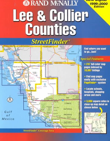 9780528978807: Rand McNally Streetfinder : Collier/Lee County Florida