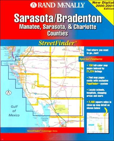 9780528978883: Rand McNally Sarasota/Brandenton Streetfinder: Manatee, Sarasota & Charlotte Counties (Rand McNally Streetfinder)