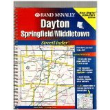 9780528978944: Rand McNally Streetfinder Dayton: Springfield, Middletown