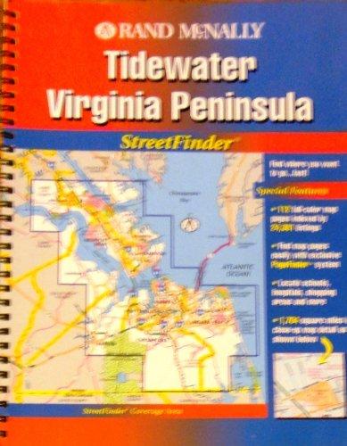 9780528978982: Rand McNally Streetfinder Tidewater, VA (USA StreetFinder Atlas)