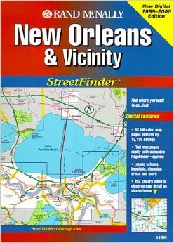 9780528979033: Rand McNally New Orleans & Vicinity Streetfinder