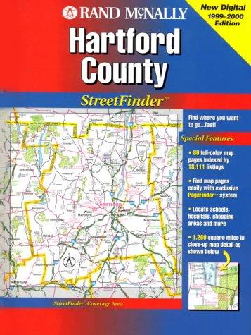 9780528979057: Rand McNally Hartford & Vicinity Streetfinder (USA StreetFinder Atlas)