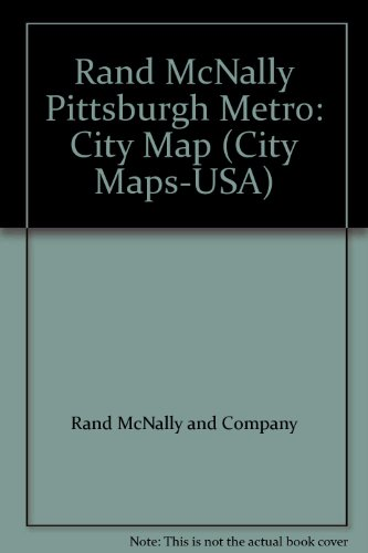 9780528979804: Rand McNally Pittsburgh Metro: City Map (City Maps-USA)