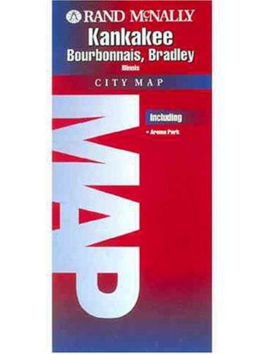 Folded Map-Kankakee/Bourbonnais/Bradley (Rand McNally): Rand McNally